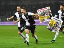 Italiaanse media vol lof na eerste goal De Ligt: 'De reus is opgestaan'