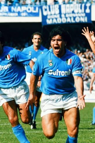 Een absoluut genie op het veld: de hoogtepunten van Maradona in het shirt van 'zijn' Napoli
