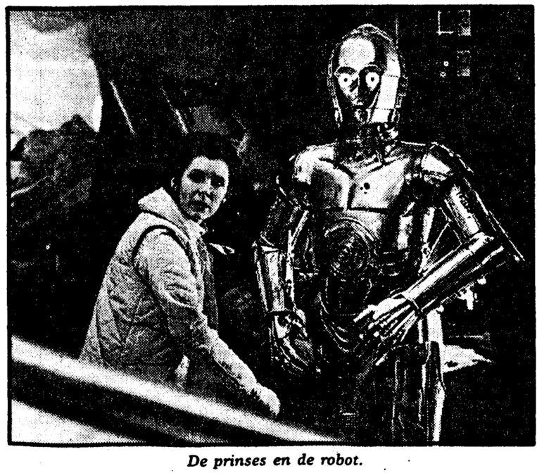 Uit de Volkskrant van 12 december 1980. Beeld