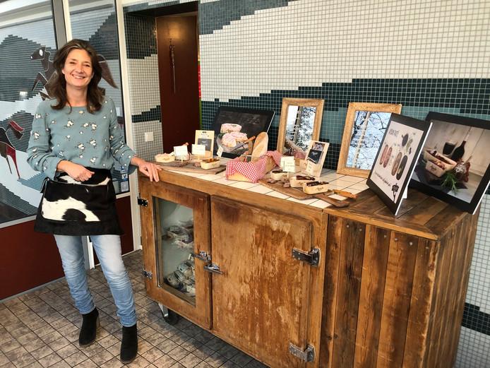'Madame Paté' Inge Jans in haar winkel.