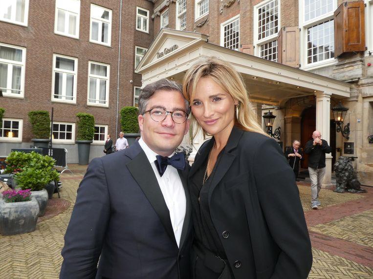 Organisator François-Léon Van der Velden (Dutch Global Media):