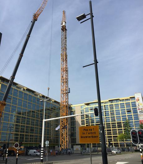 Kraan opgebouwd voor Onyx bij Philips Lighting Eindhoven