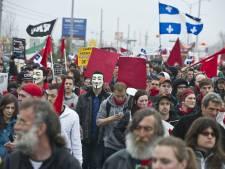 """Le """"printemps érable"""" des étudiants québécois"""