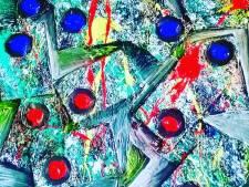 Utrechtse schilder Yanko Ivanov maakt schilderij over aanslag 24 Oktoberplein