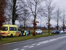Scooterrijder gewond na aanrijding in Oeffelt