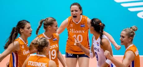 Volleybalsters sluiten tweede ronde Nations League af met winst