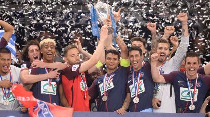 Sprookje van Les Herbiers kent geen happy end: PSG vloert derdeklasser in Franse bekerfinale