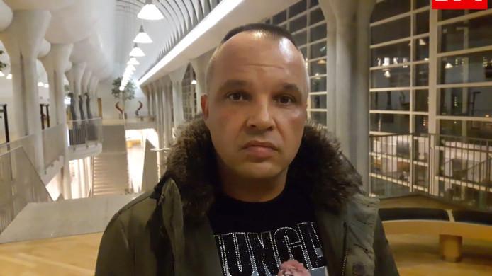 Corin Denis (38), de voortvluchtige Tilburgse captain van motorclub No Surrender.