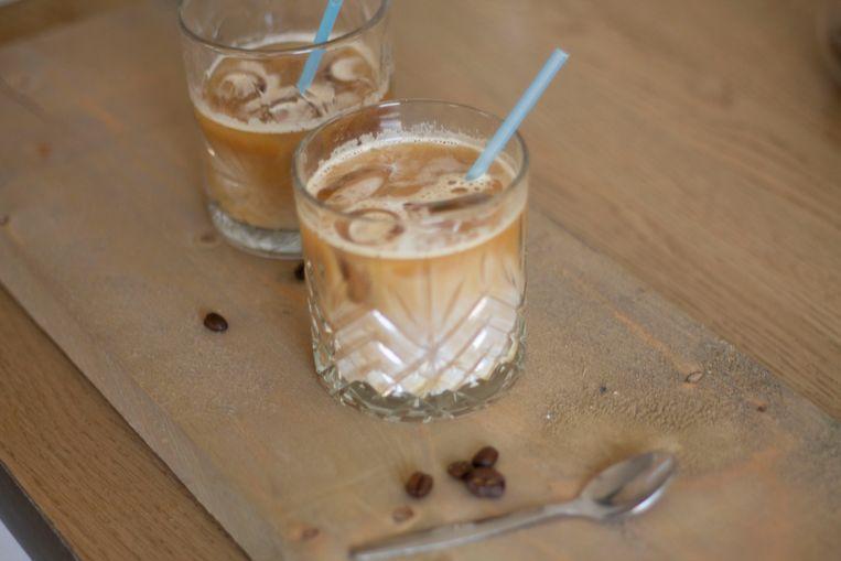 Iced latte Beeld Lies Mensink