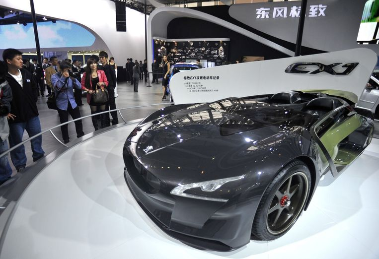 Peugeot EX1. Beeld EPA