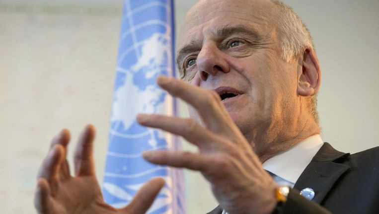 VN-gezant Nabarro Beeld reuters