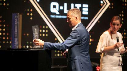 Q-Lite in de prijzen voor digitale snelheidsborden waarbij voorbeeldige chauffeurs automatisch doneren aan het goede doel