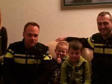 Politie voor de deur in Ens om vuurwerkvoorlichting aan Max (7)