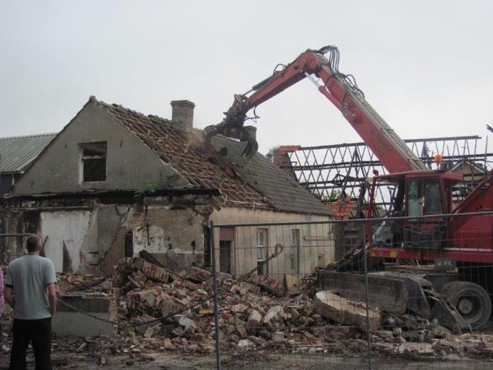 De bouwval in Velddriel