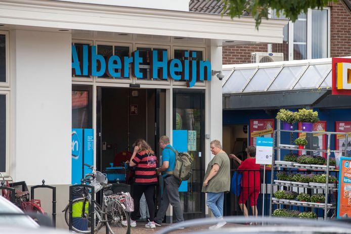 De Albert Heijn in Lunteren.