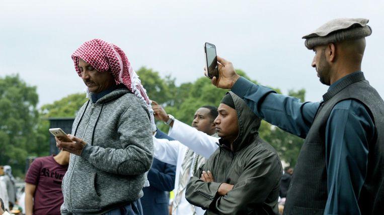 Beeld uit een uitzending van Tegenlicht over radicalisering in Birmingham. foto gregor meerman Beeld Gregor Meerman