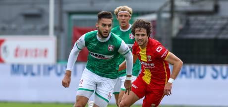 FC Dordrecht-aanvaller Nikolas Agrafiotis snakt naar goals: 'Ik had dit seizoen al moeten scoren'