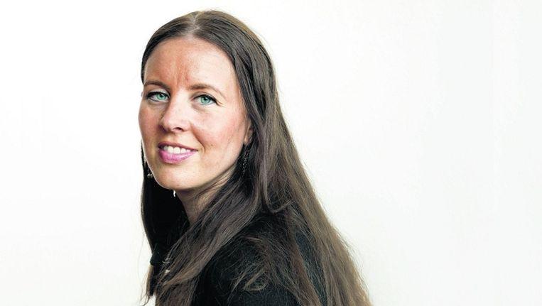 Nuweira Youskine: 'Het multicultidebat gaat me na aan het hart.' © Maartje Geels Beeld
