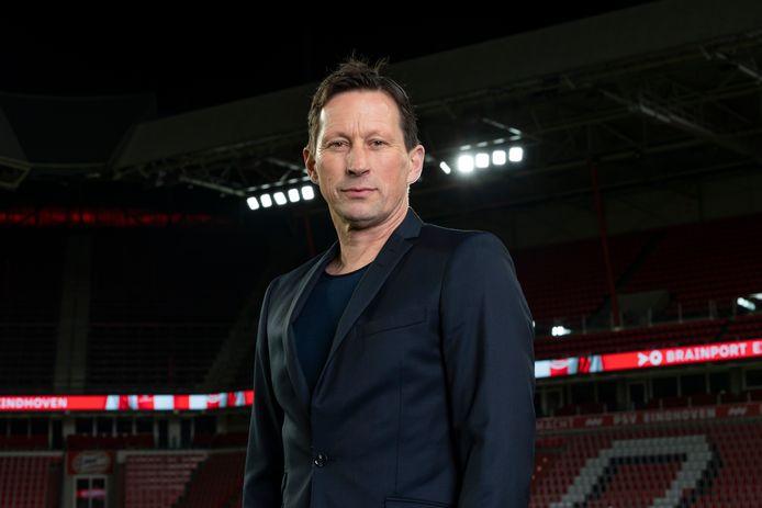Roger Schmidt in het Philips Stadion.