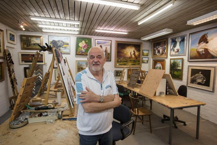 Frans Romeijnsen in galerie Markant in Gemert