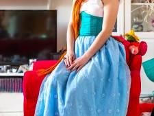 Sylvia Denissen uit Houten: 'Mezelf omtoveren tot een prinses is haast een verslaving'