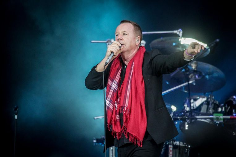 Simple Minds op TW Classic in 2014.