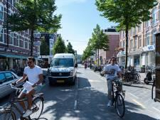 Fietsers J.P. Heijestraat terug op fietspad na mislukken experiment