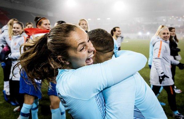 'Uitschakeling had het vrouwenvoetbal in Nederland in één klap jaren teruggeworpen'