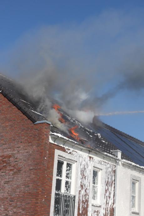 Zorg om branden bij zonnepanelen