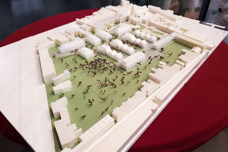 Ruisbroek - Op de oude ACV-site zal het project Kerkeveld van ontwikkelaar Green Organisation verrijzen. Een beeld van de maquette