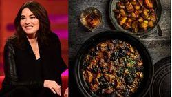 """Nigella Lawson niet altijd fan van foodfoto's op Instagram: """"Een stoofpotje is nu eenmaal een bruine brij"""""""