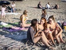 Warmte zorgt voor verkeersdrukte richting de stranden