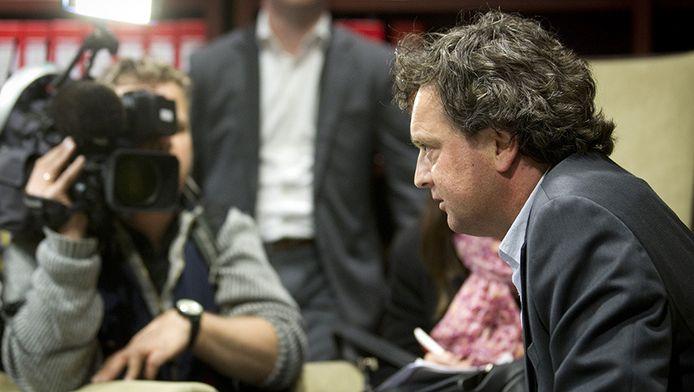 De Almeerse PVV-fractievoorzitter Toon van Dijk
