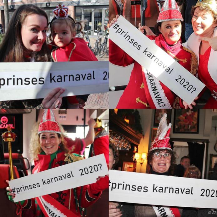 Prinsessen karnaval 2020 van Döllekesgat in spe