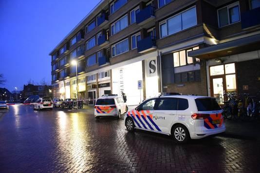 De politie onderzoekt het mogelijke schietincident bij het Smaragdplein.