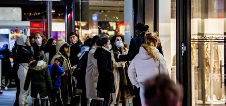 Sinterklaasdrukte in centrum van Rotterdam valt mee