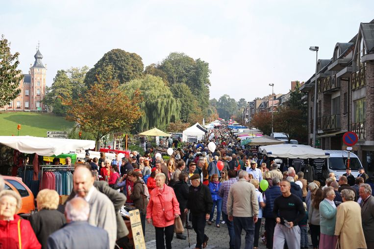 De jaarmarkt in Dilbeek tijdens een vorige editie lokte steeds duizenden bezoekers.