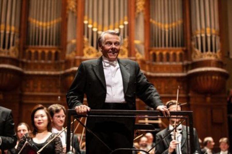 Mariss Jansons in Het Concertgebouw. Beeld Het Concertgebouw