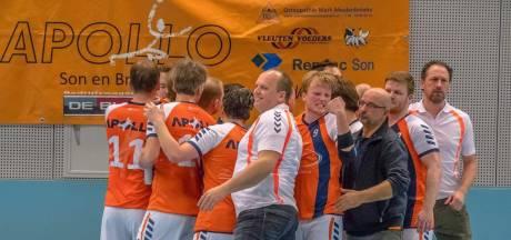 Handbalstuntploeg Apollo uit Son loot landskampioen in kwartfinale beker