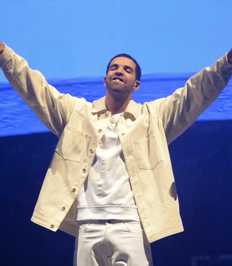 Rapper Drake breekt hitrecord van The Beatles