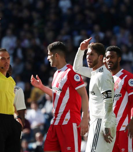Ramos scherpt eigen record aan met twintigste rode kaart