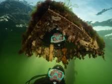 Deze onderwaterfoto van Marloes viel in de prijzen