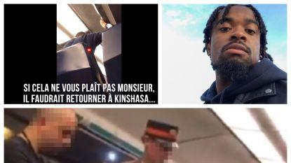 """Spoorwegagent tegen Belg Joshua (23): """"Als u het hier niet aanstaat, keer dan terug naar Kinshasa"""""""