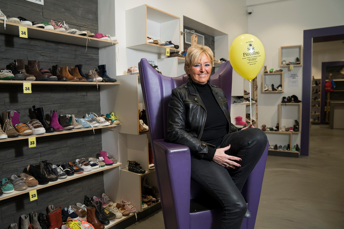 Lia Staring stopte na 35 jaar met haar kinderschoenenwinkel Piccolino.