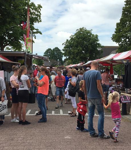 Veel bezoekers en gezelligheid op jaarmarkt Wijk en Aalburg