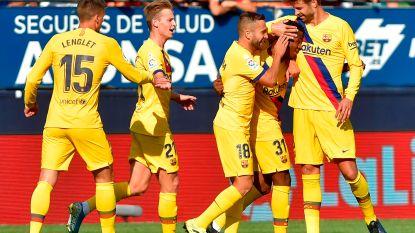 Fati jongste doelpuntenmaker ooit voor Barcelona, al laten de Catalanen wel weer punten liggen