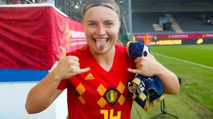 """Na het Franse sprookje met Neymar als scout aast Vanmechelen (19) op de WK-droom: """"Red Flames kunnen echt wel wedijveren met de top"""""""