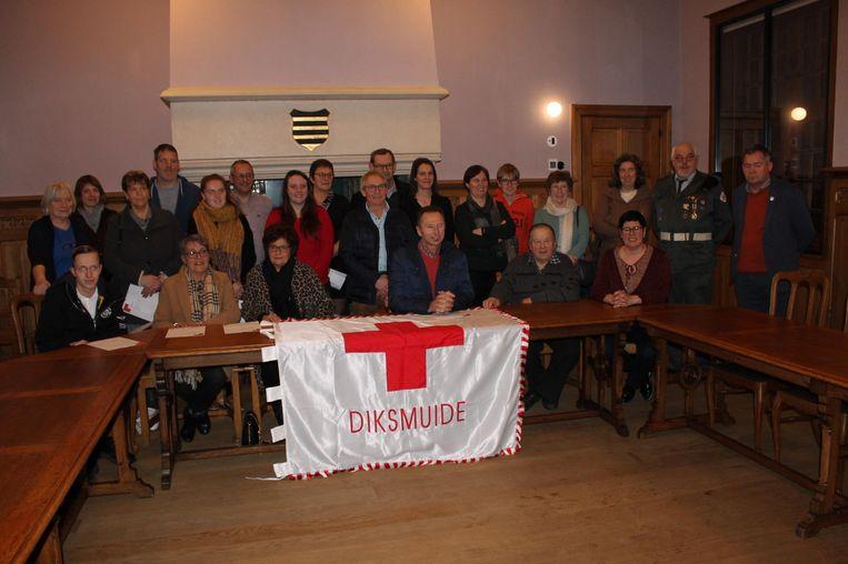 Rode Kruis Diksmuide reikt brevetten uit