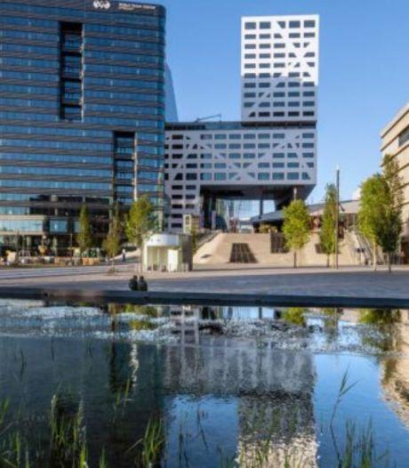 Werkzaamheden aan vijver Jaarbeursplein: beton blijkt niet goed te zijn