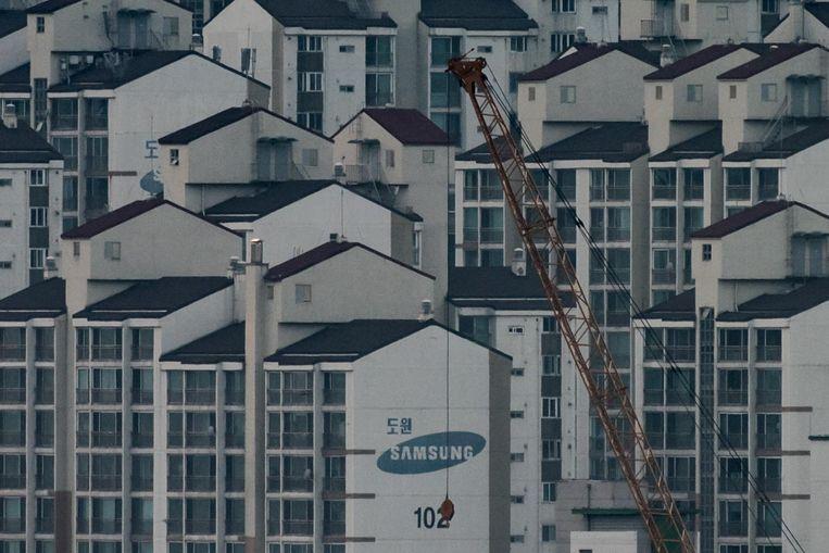 Een appartementencomplex van Samsung in Seoul. Beeld AFP